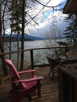 Gorgeous set of cabin and home on quiet part of shuswap!!!