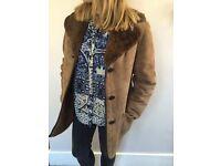 SOLD: Vintage Sheepskin Jacket