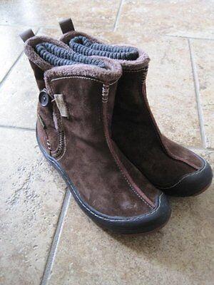 Kyпить Privo 6M brown leather short boots button side на еВаy.соm