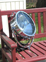 Antique Francis Searchlight Chrome 13 Inch
