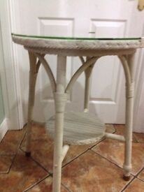 Glass Top Occasional Table - Can Deliver