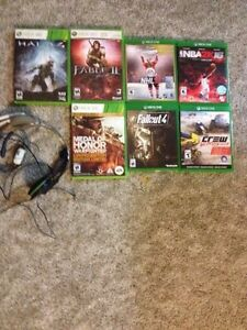 Xbox 1 and 360 games