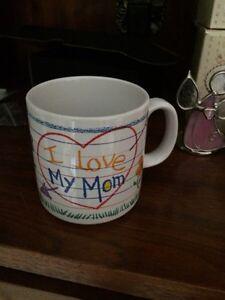 """""""I Love My Mom""""  mug  St. John's Newfoundland image 1"""