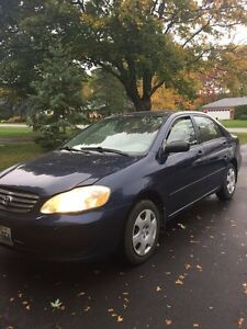 2004 Toyota Corolla automatic $1699 -AS IS - will pass safety