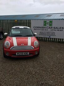 Mini Cooper s 6 months warranty extended warranty available
