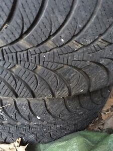* REDUCED* 4 Goodyear Ultragrip winter tires and rims Kawartha Lakes Peterborough Area image 5