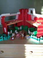 Ferme et maison Fisher Price