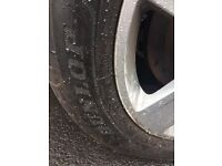 audi a4 16'' wheels with 6mm dunlop sport tyres