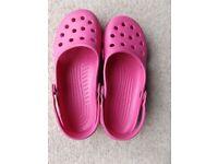 Ladies' Crocs Size 10 Pink Shoes Women's Large