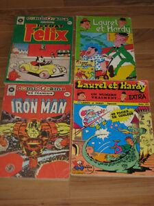 Comicorama, livres Félix le chat, Batman et Superman, Hulk