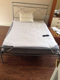 Double bed and mattress for sale ..£90