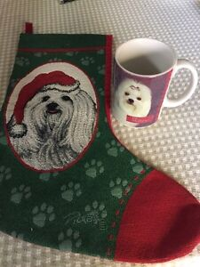 Dog stocking and cup