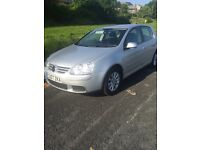 VW GOLF *MATCH* 2007*12MONTHS MOT