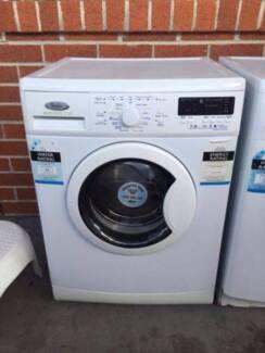 Nice great working 7.5 kg front good size whirlpool washing machi