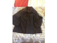 Ladies big collar coat Ann Harvey size 22