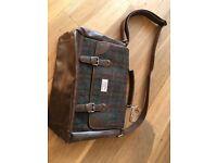 Harris Tweed satchel/briefcase