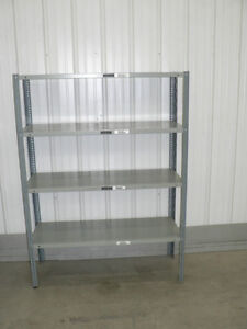 Great Deal on Used metal Shelves