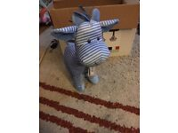 Mothercare stripy soft toy