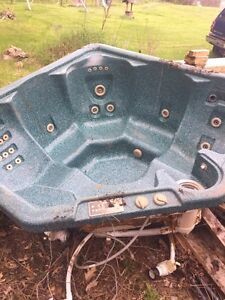 Old hot tub
