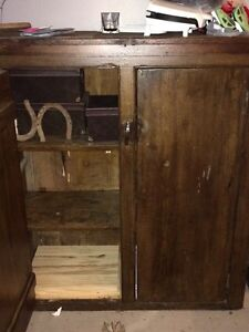 Rustic old jam cabinet  London Ontario image 2