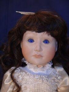 Meggan's Collectors Canadian Procelain Handmade Doll (Noele) London Ontario image 2