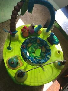 Exersaucer and Toy