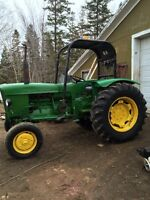 Just in time for haying season - JOHN DEERE TRACTOR 710