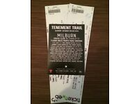 Tenement Trail Music Festival (4 tickets available)