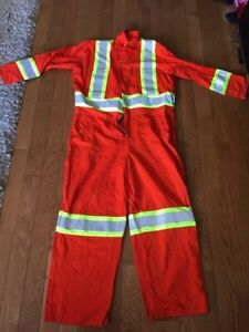 Stalworth reflective/high visibility work coveralls