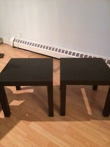 End tables and table