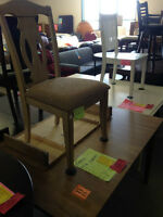 Dining Room Set with 4 Chairs – Liquidation Priced