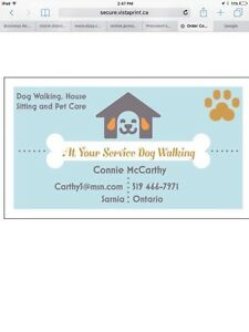 At Your Service Dog  Walking And Pet Care
