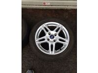 2013 ford fiesta wheels perfect condition