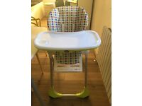 Chicco highchair perfect condition