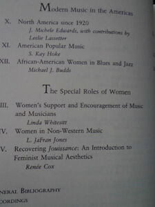 WOMEN AND MUSIC A HISTORY KARIN PENDLE West Island Greater Montréal image 3