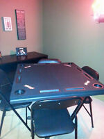 Budweiser Card Table excellent condition