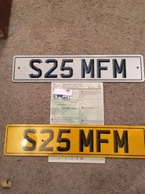 Private Reg S25 MFM