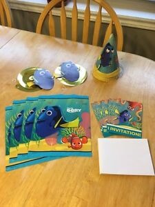 Finding Dory Party supples