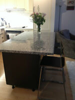 pre-made GRANITE countertops for ISLANDS or TABLES, on sale!