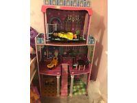 Dolls house, monster mansion, ideal for monster high dolls