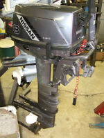 NISSAN 8 HP LONG SHAFT OUTBOARD MOTOR