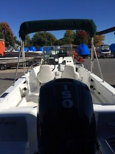 Campion Centre Console with NEW 150hp Mercury Cornwall Ontario image 2
