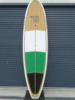 SUP- Stand Up Paddle- Bamboo 10,-- Allrounder tri fin