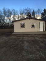 Acreage with Building, west of Innisfail