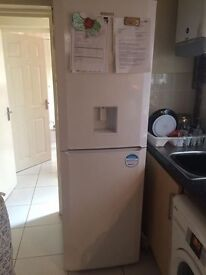WHITE BEKO FRIDGE FREEZER FOR SALE IN YARDLEY B25