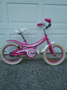 "Girls bike 16"" tires good used condition"