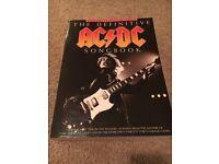 AC/DC songbook Definitive guitar tablature edition