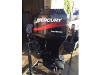 Mercury 75hp 4stroke outboard (boat/rib/engine)