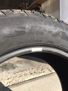 Set of 4 Goodyear SR-A tires