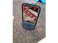 OUTDOOR A BOARD FOR SALE.. Only £30.00